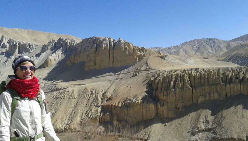 Upper Mustang during Tiji festival Trek